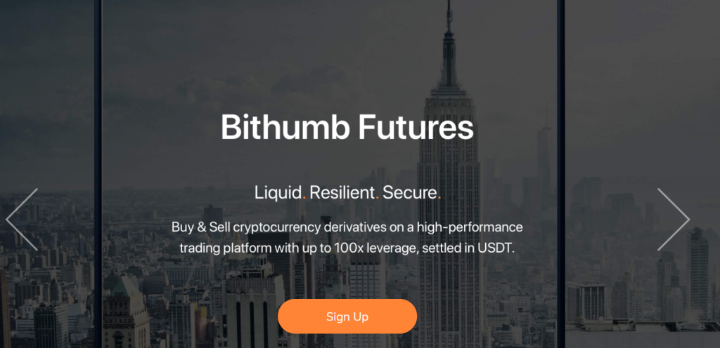 Bithumb Futures Referral Code